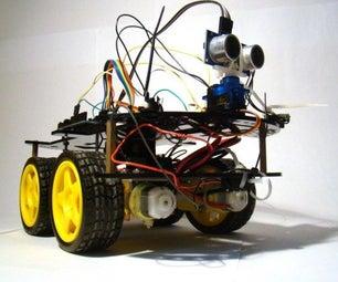 Ultrasonic Car + Arduino