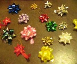Star Shaped Ribbons