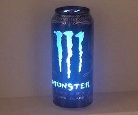 Monster Energy Can Light
