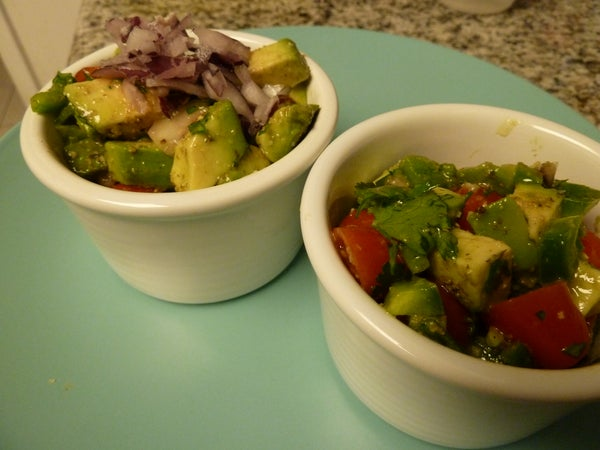 Paleo Avocado & Tomato Salad