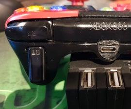 Xbox 360 USB-C Conversion