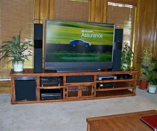 Big Screen Entertainment Center