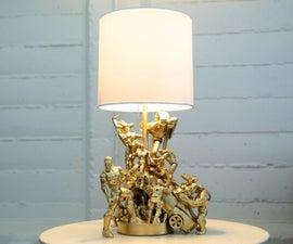 action figure lamp