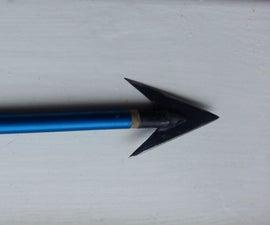 Broad Head Arrow From Spoon