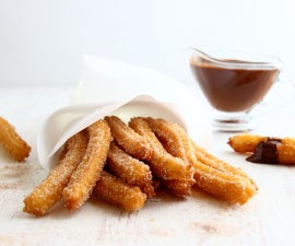 Homemade Churros with Cinnamon