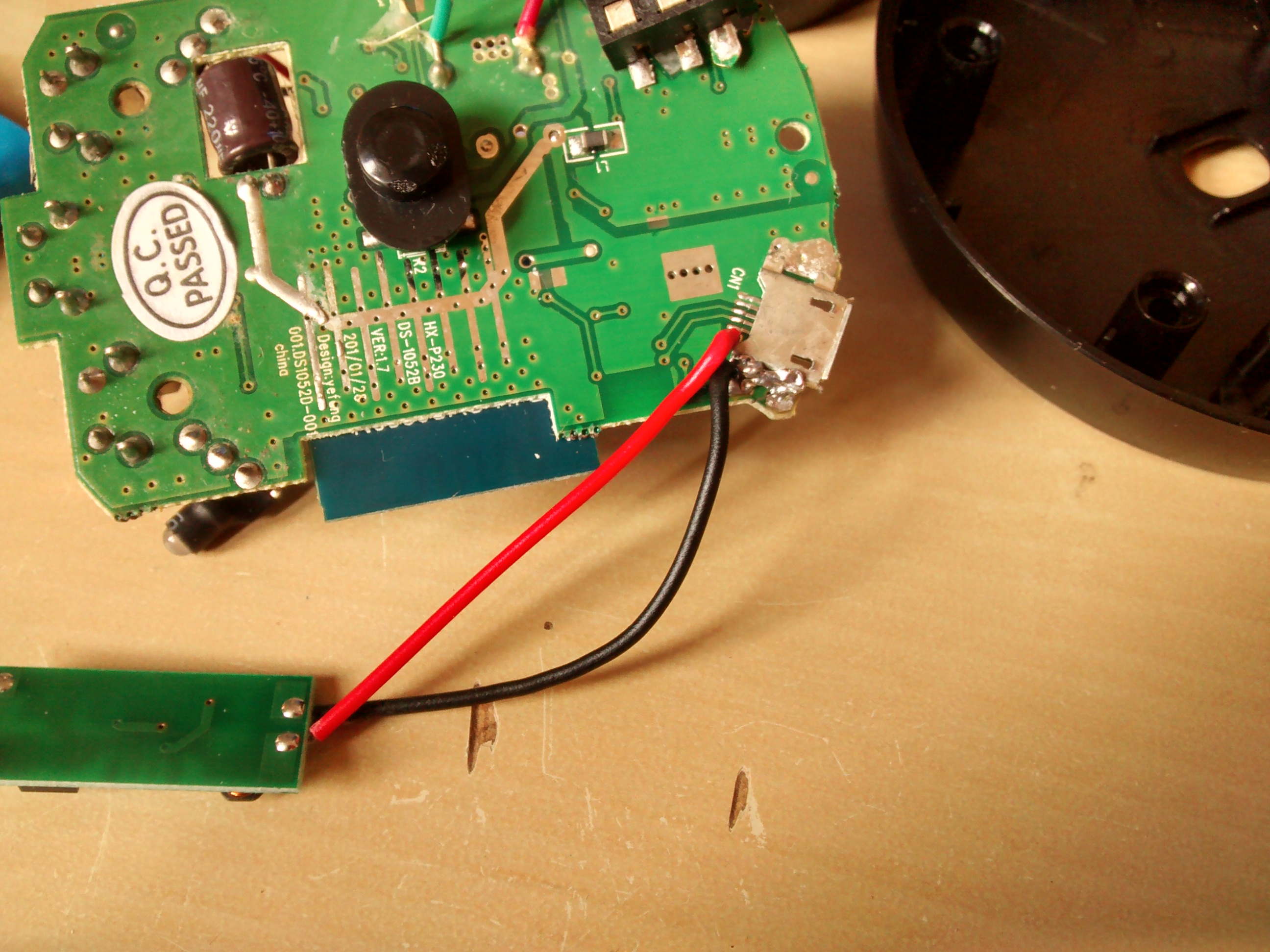 Picture of Find Your 5v Input & Solder the Receiver