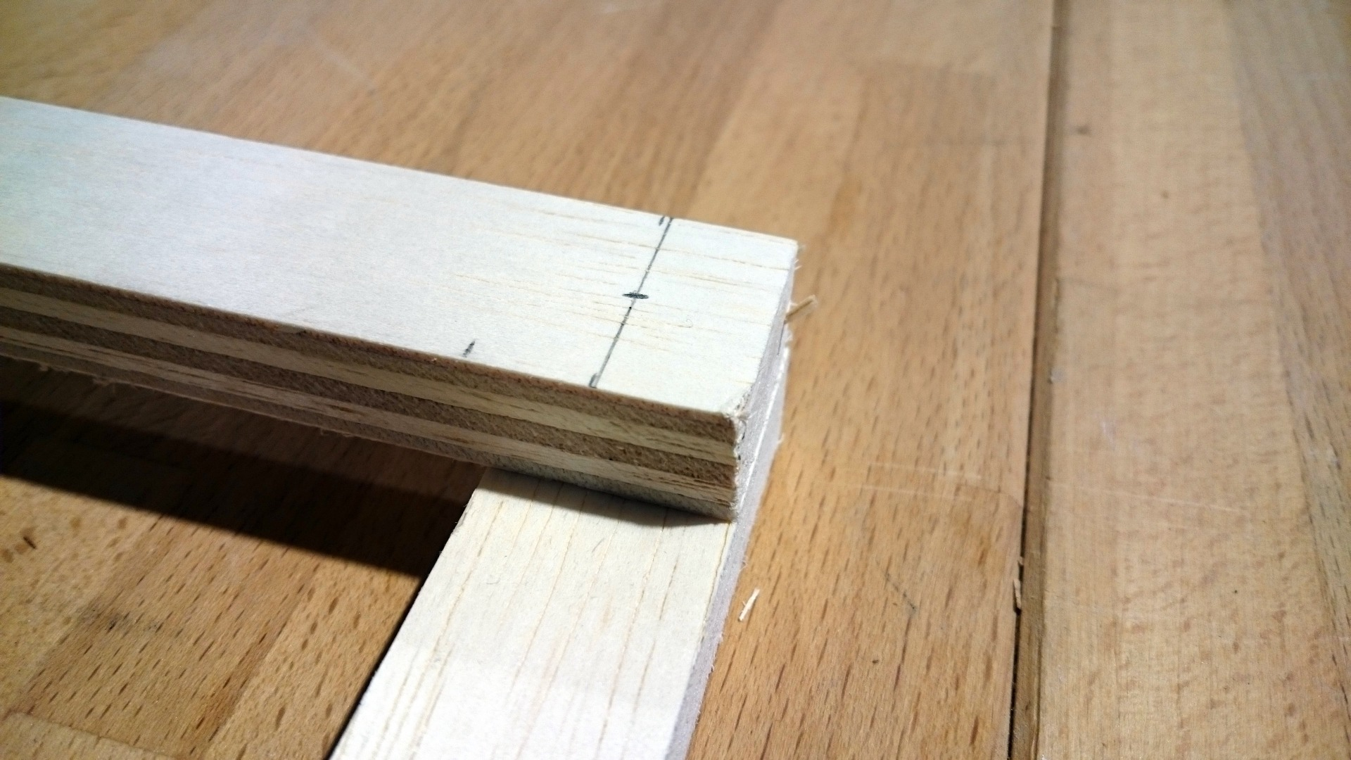 Picture of Creating the Holes for Joining the Neck
