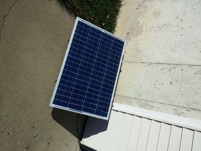 Solar Panel & Connections