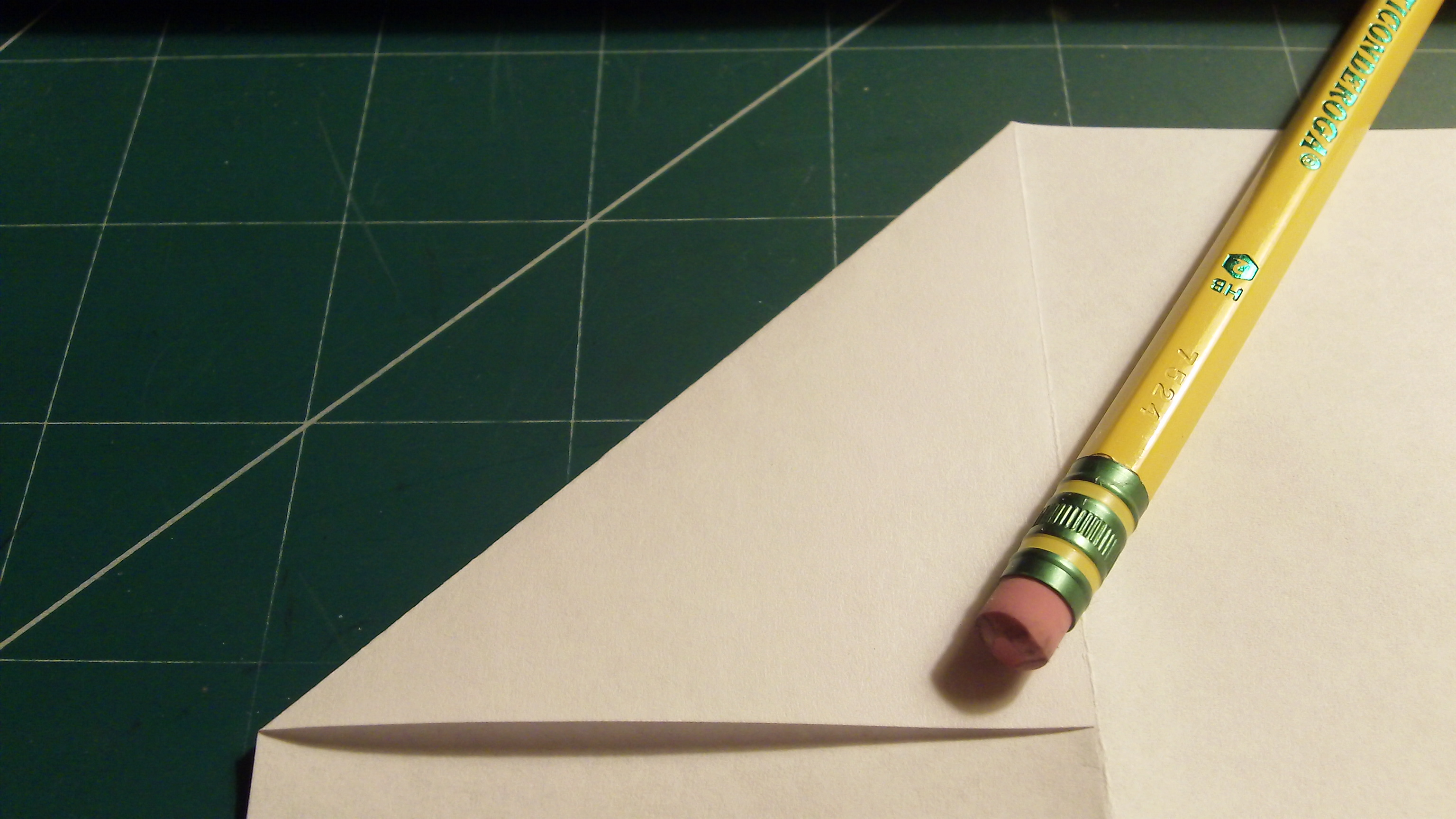 Picture of Width, Fourth and Corner Folding