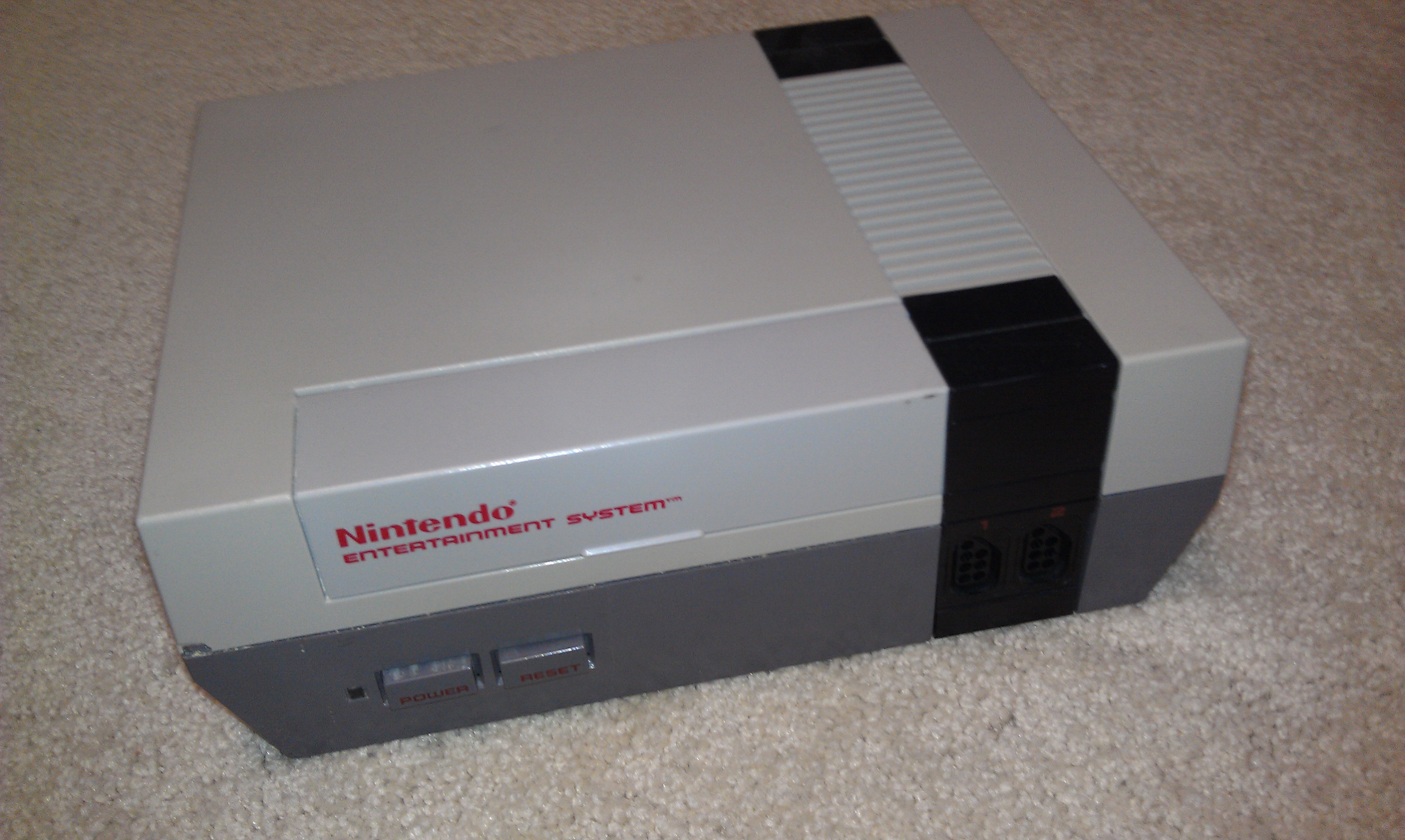 Picture of Clean Out the NES Case