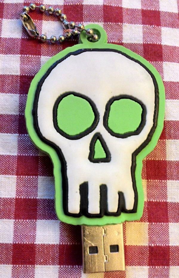 Skull USB Memory Stick