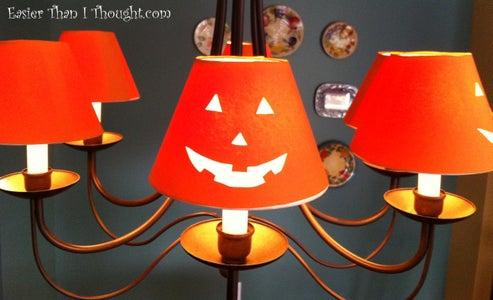 Jack-o-lantern Shade Covers