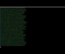 Matrix Falling Code Effect - Notepad