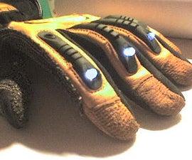 LeD Light Glove Of Power
