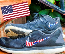 How to Fix Your Nikes--Alternative to Burning Them (cheap/easy DIY Fix)