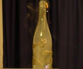 Bottle Incense Burner