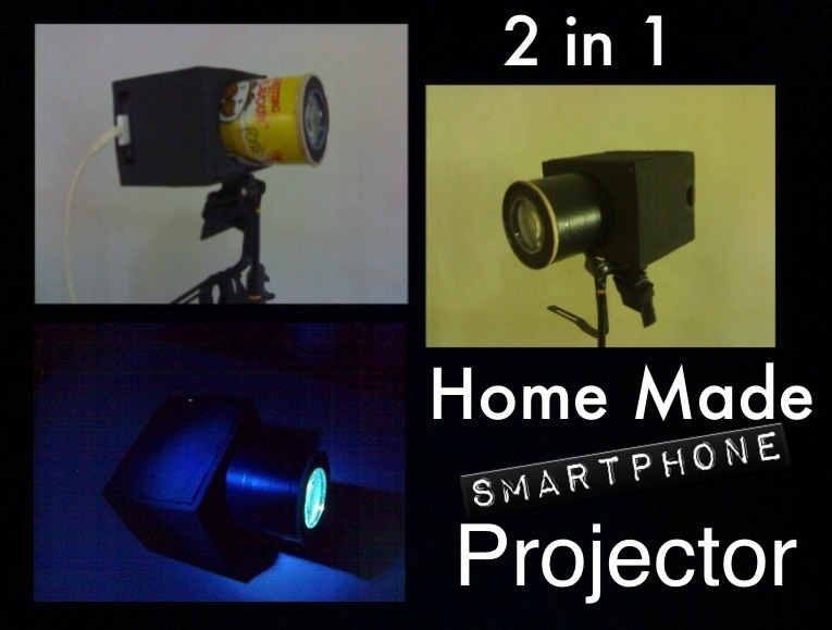 Picture of Home Made Smartphone Projector