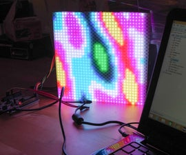 32x32 RGB LED Plasma w/ STM32F4.