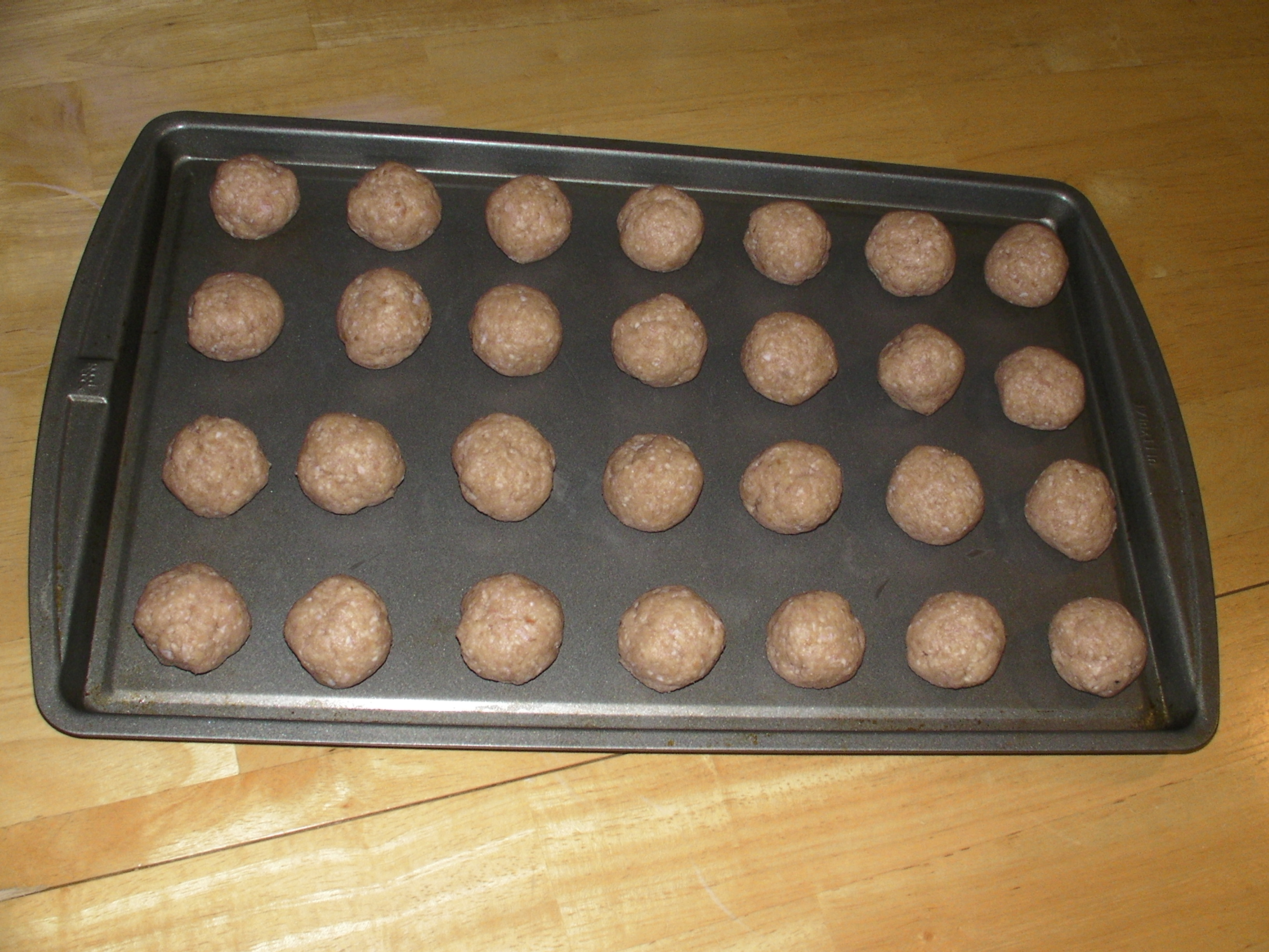 Picture of Rolling Meatballs
