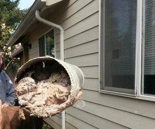 How to Clean Out Long Dryer Vents