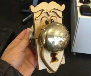 """Alice in Wonderland """"Talking Doorknob"""" Mold"""