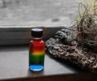 Rainbow in a Bottle