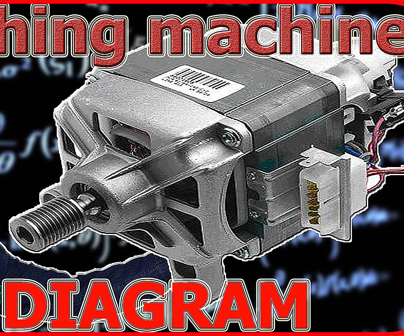 Washing Machine Motor Wiring Diagram: 6 Steps on