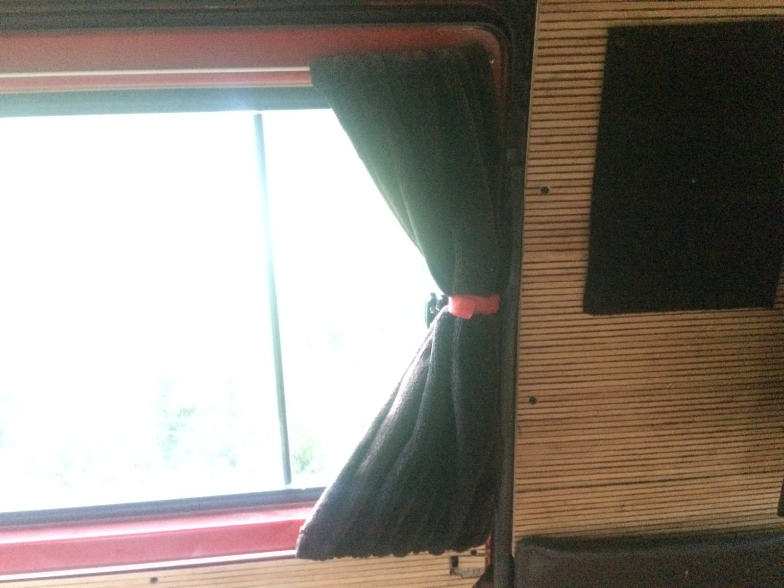 Picture of Curtains and Velcro Wall