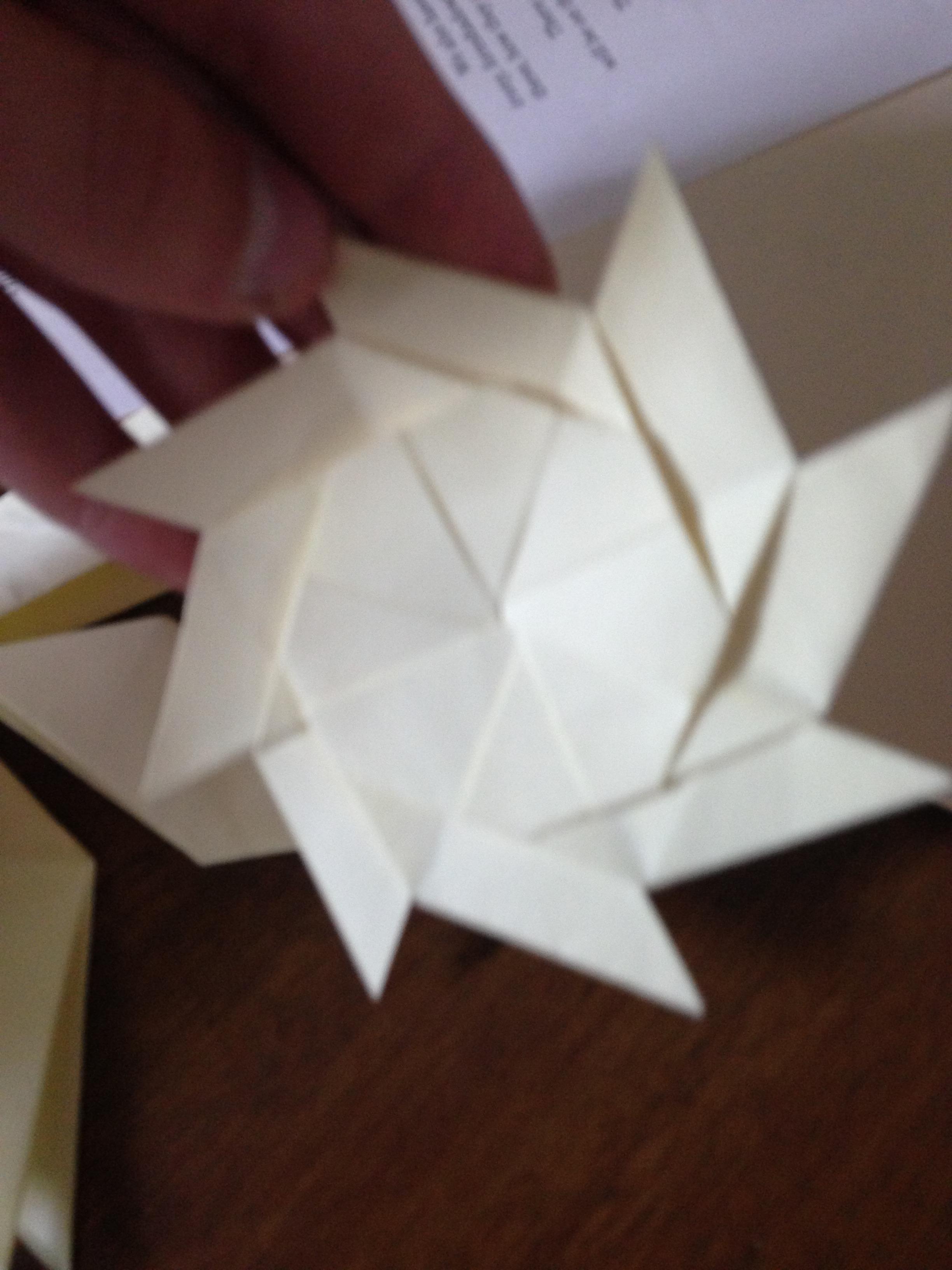 Picture of Paper Ninja Star