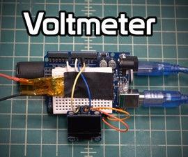 Arduino Voltmeter Prototype