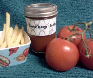 How to Make Homemade Ketchup and Can It