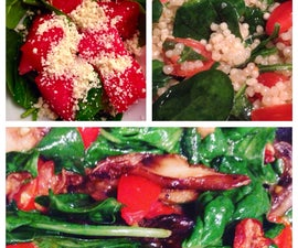 3-ingredient Spinach Recipes