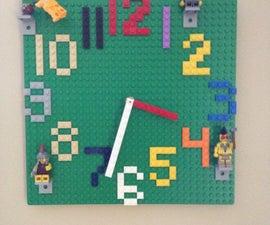 Lego Wall Clock