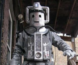 DOCTOR WHO CYBERMAN COSTUME
