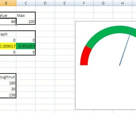 Speedometer Graph in Excel