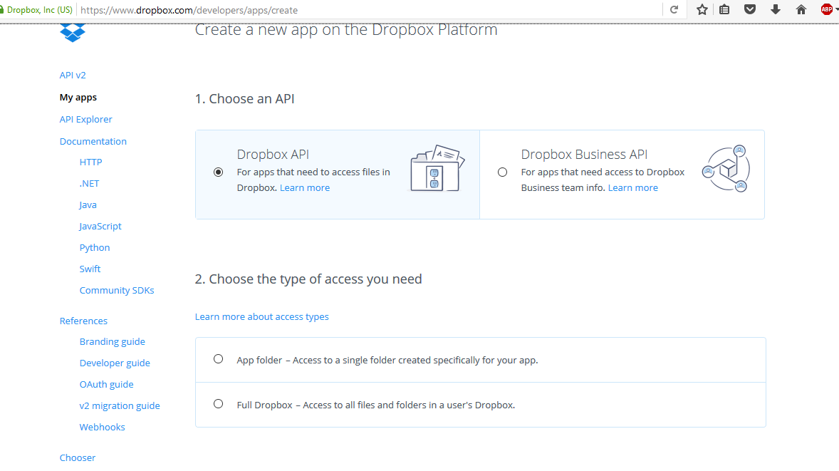 Picture of Setting Up the Dropbox Uploader!