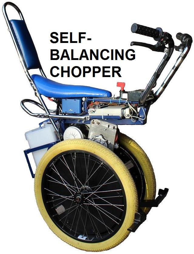 Picture of Self-balancing Raleigh Chopper Inspired Electric Scooter