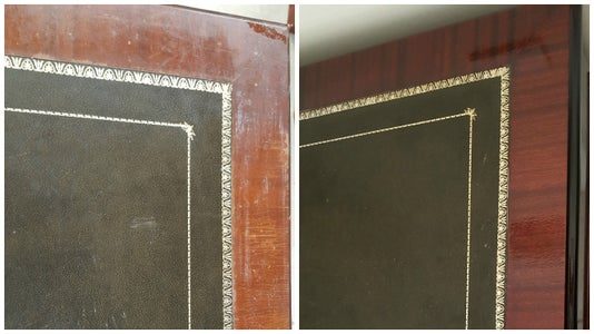 This Is the Before and After of the Table Top