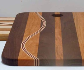 Curved Insert Cutting Board