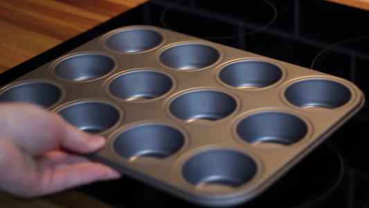 Prep the Muffin Tin