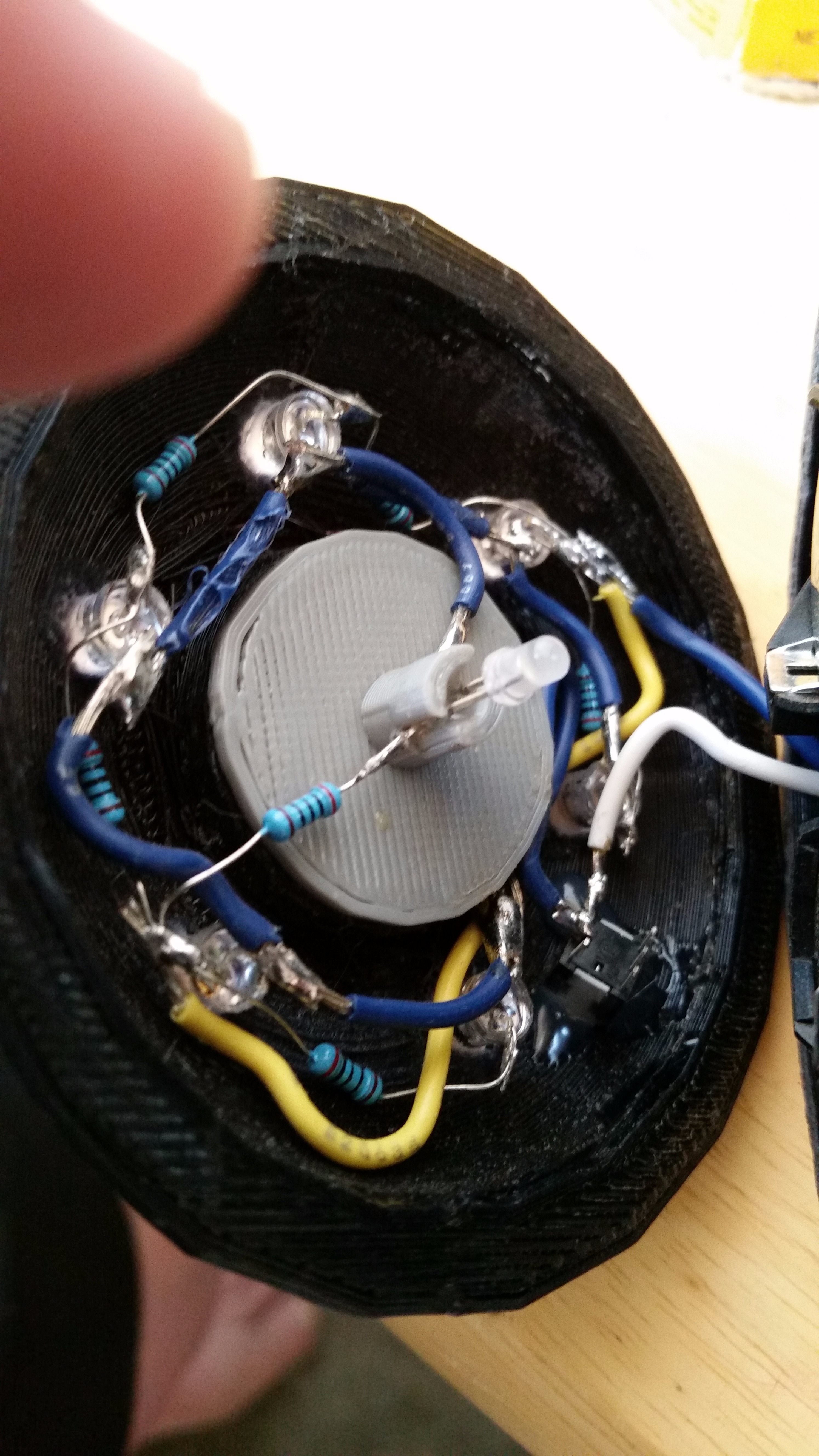 Picture of Soldering the Wires