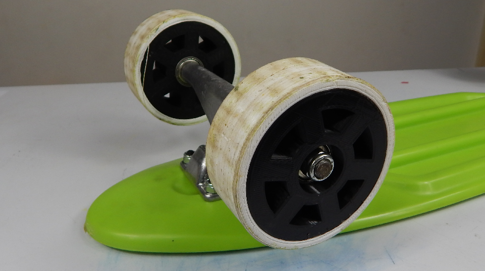 Picture of 3d Printed 2-part Skateboard Wheels