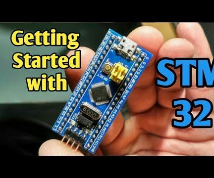 Getting Started With Stm32 Using Arduino IDE: 3 Steps