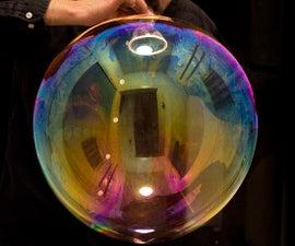 Giant Indoor Bubble Blower (One-way Valve)