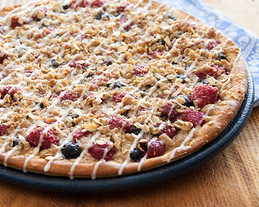 Picture of Berry Oatmeal Pizza