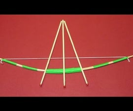 How to make a Mini Bow and Arrow with Exploding Tips