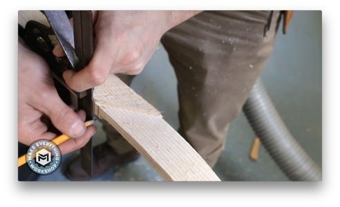 Router Out the Handle to Receive the Inlay
