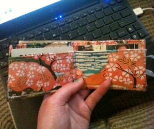 Make a Wallet From Scraps