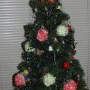 Jello Flavored Popcorn Ball Ornaments