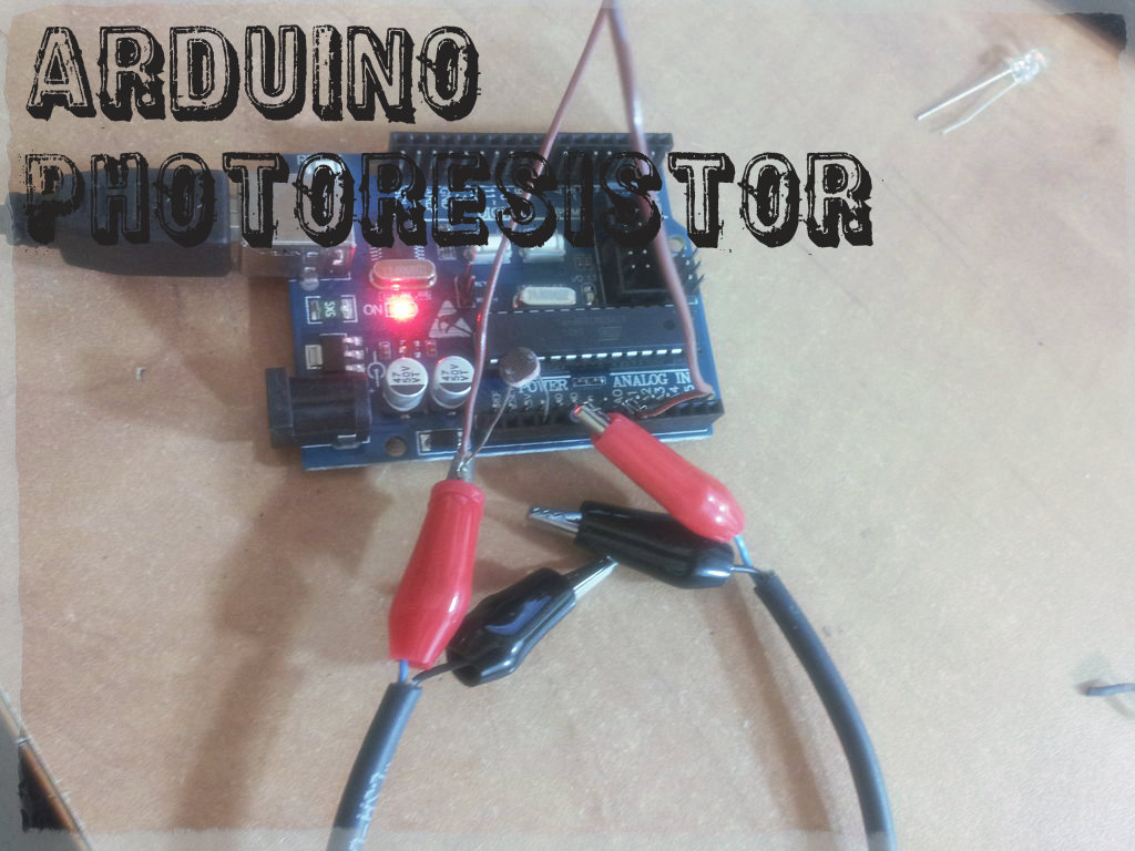 Picture of Arduino Basics No.1 - Photoresistor